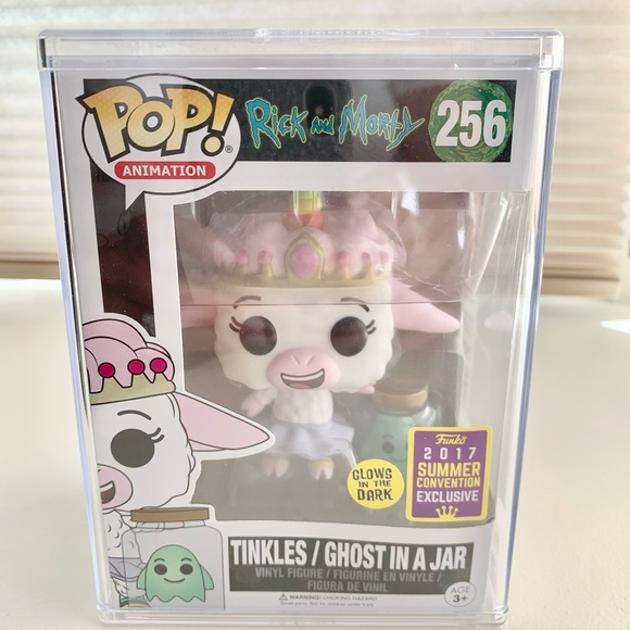 RARE FUNKO POP Tinkles/Ghost in a Jar #256